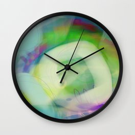 Sweet Limetta Wall Clock