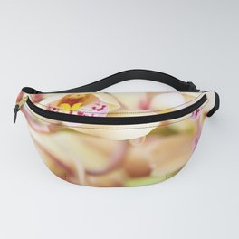 Pink and yellow orchids Fanny Pack