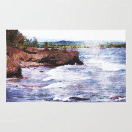 Upper Peninsula Landscape Rug