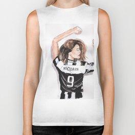 Juventus girl Biker Tank