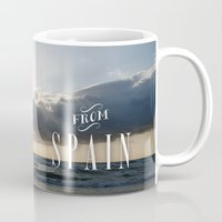 spain Mugs featuring From Spain by Nena Loca