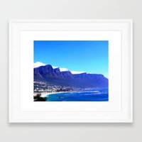 south africa Framed Art Prints featuring South Africa Impression 10 by Art-Motiva