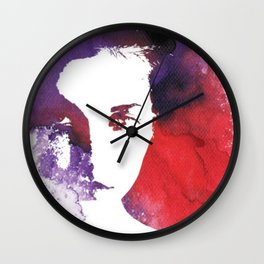 """Sad Days"" Art by weart2 Wall Clock"