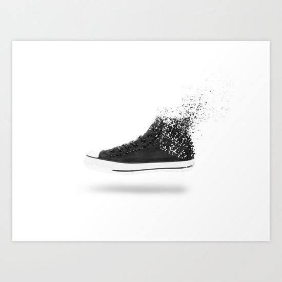 Destroy Converse Art Print