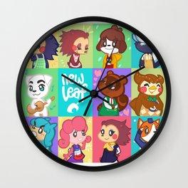 Animal Crossing New Leaf Wall Clock