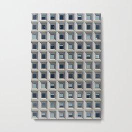 New York Facade Metal Print