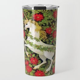 Christmas Unicorn Travel Mug