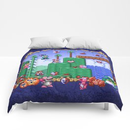 Mario Super Bros, Too Comforters
