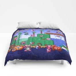 Mario Super Bros, Too Comforters