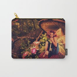 Keeper of the Secret Fairy Tale Scene Carry-All Pouch
