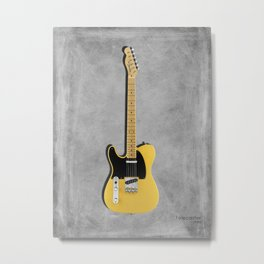 The 52 Telecaster Metal Print