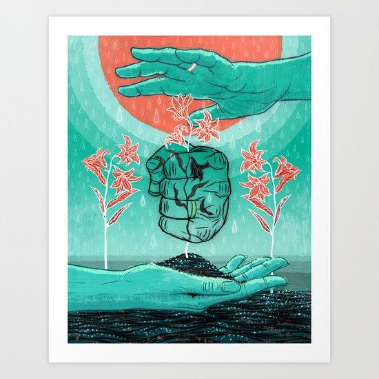 MARRIAGE & FAMILY Art Print