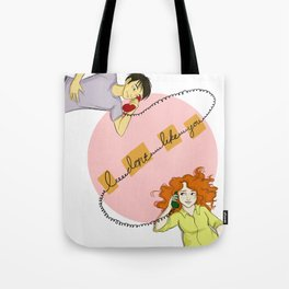 """I don't like you"" Eleanor & Park print Tote Bag"