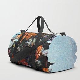 Bodegón de flores/Natureza morta de flores/Still life of flowers Duffle Bag
