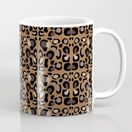 Leopard Suede Coffee Mug