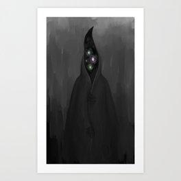Dweller in Darkness Art Print