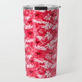 Pink chamomiles Travel Mug
