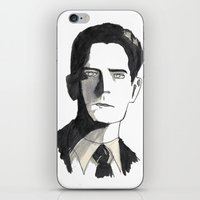 twin peaks iPhone & iPod Skins featuring twin peaks by sharon
