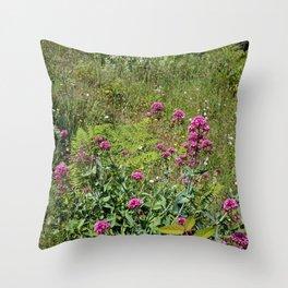 Nature gardens Throw Pillow