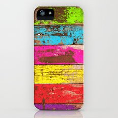 Vintage Colored Wood Slim Case iPhone (5, 5s)