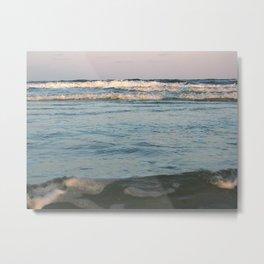Ceaseless Waves Metal Print