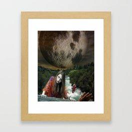 Under the Moonlight Framed Art Print