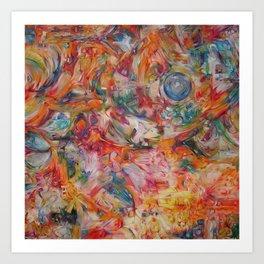 Homemade Ecstasy Art Print