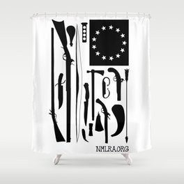 Tools of the American Revolution Shower Curtain
