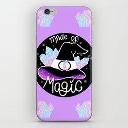 Made of magic iPhone Skin