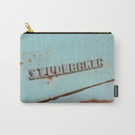 Blue Studebaker Carry-All Pouch