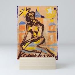 European Capital - Kopenhagen Mini Art Print