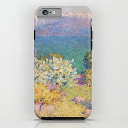 John Peter Russell - In the morning, Alpes Maritimes from Antibes iPhone Case