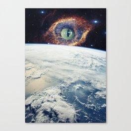 the vigilant Canvas Print