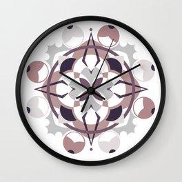 Fall cross Wall Clock