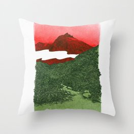 W #1 Throw Pillow
