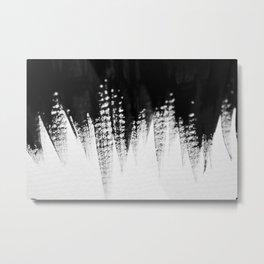 BNW Stroke Metal Print