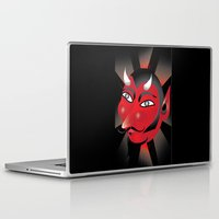 demon Laptop & iPad Skins featuring Demon by riomarcos