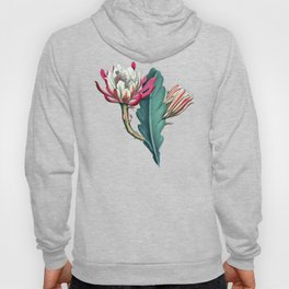 Flowering cactus IV Hoody