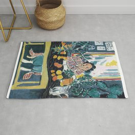 Interior with Etruscan Vase - Henri Matisse - Exhibition Poster Rug