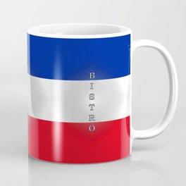 Tricolore Bistro Coffee Mug