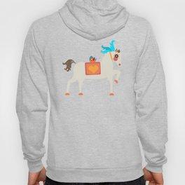 GENTLE  HORSE AND FELLOW BIRD Hoody