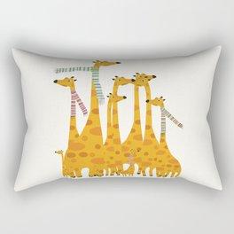 giraffe do disco Rectangular Pillow