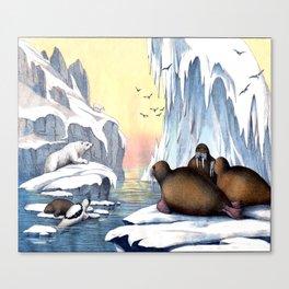 Polar Convention Canvas Print