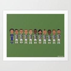Juventus 2013 Art Print