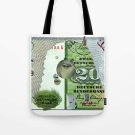 15 DM Collage Tote Bag