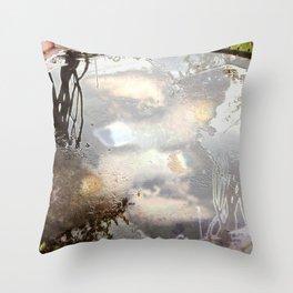 Puddles Throw Pillow