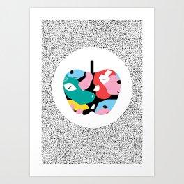 Apple Mess Art Print
