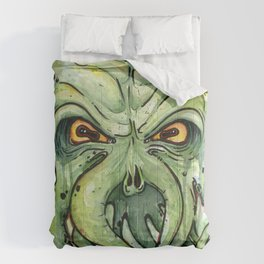 Cthulhu HP Lovecraft Green Monster Tentacles Comforters