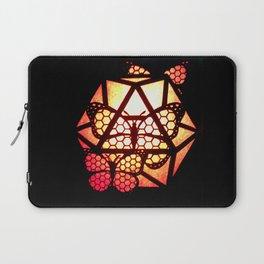 Burning Butterfly Lantern  Laptop Sleeve