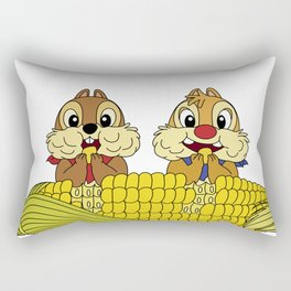 Chip and Dale Rectangular Pillow